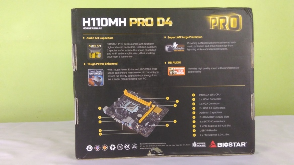 Biostar H110MH PRO D4 Unboxing And Overview | JazzTech