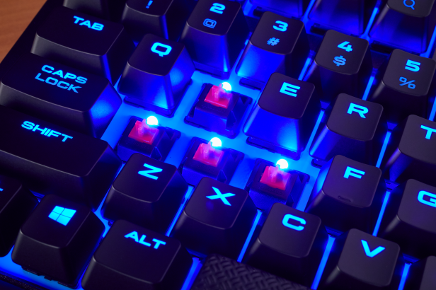 1e6fdc22f95 K63_Wireless_NA_Lifestyle_08. The new K63 Wireless mechanical gaming  keyboard, a CES 2018 ...